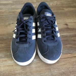 Navy Adidas Women's Float Sneakers